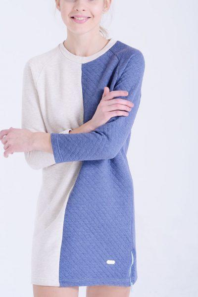 """Платье """"половинка"""" INS_BC16_08, фото 1 - в интеренет магазине KAPSULA"""