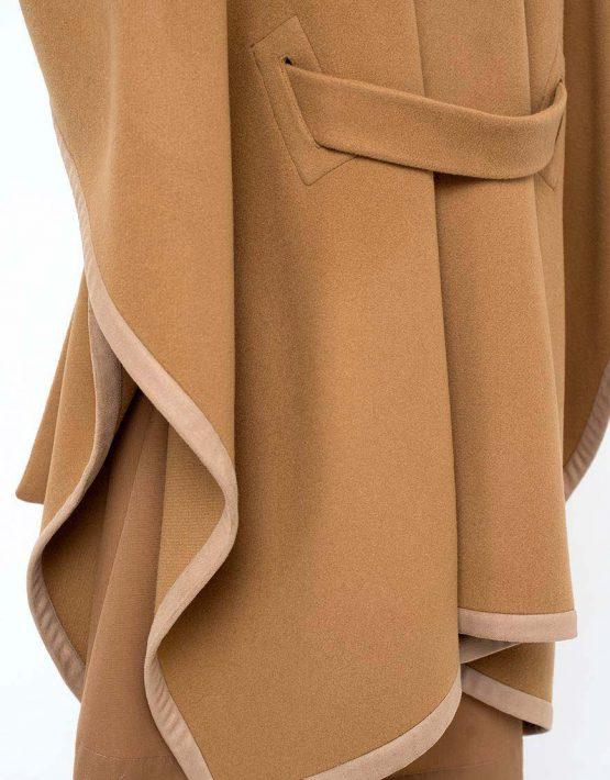 Кейп CYAN_CT#F02_beige_outlet, фото 6 - в интеренет магазине KAPSULA