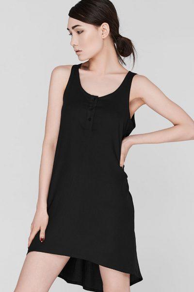 Ночная рубашка с пуговицами BLCGR_BLCN203, фото 1 - в интеренет магазине KAPSULA